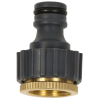 Plastic 25mm garden water tap connector