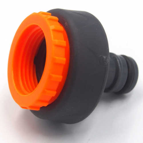 Plastic 3/4 &1  outdoor soft water tap adaptor