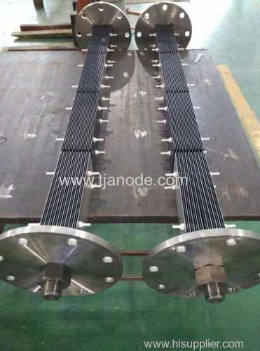 MMO Coated Titanium Anodes Used in Ballast Water Treatment System/Marine Growth Prevention System