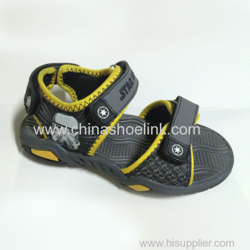 Rugged outdoor shoes child sport sandals supplier