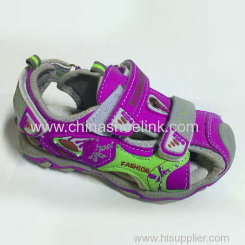 Just outdoor shoes Kids top sider sport sandals exporter