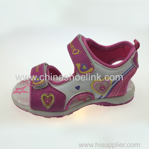 Girl outdoor shoes sport sandals manufactor