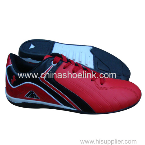 Red men sport casual shoes outdoor shoes supplier