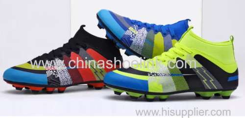 Nice soccer shoes sport casual shoes manufactor