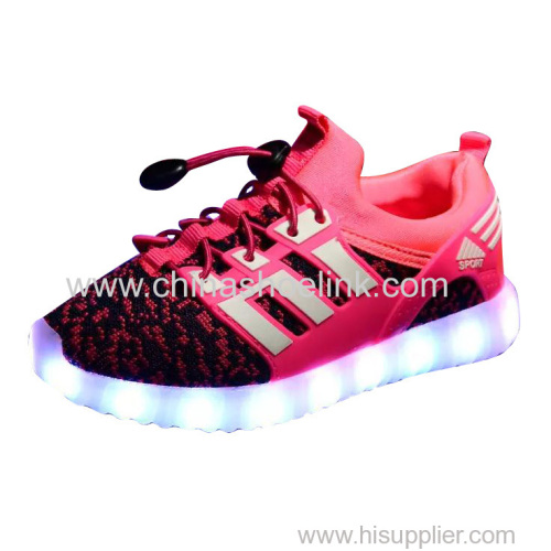 Best skateboard shoes with LED lights sport casual shoes manufactor