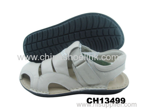 Best top sider summer action leather sandals supplier