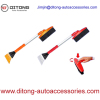 2-in-1 Telescopic Ice Scraper And Snow Brush