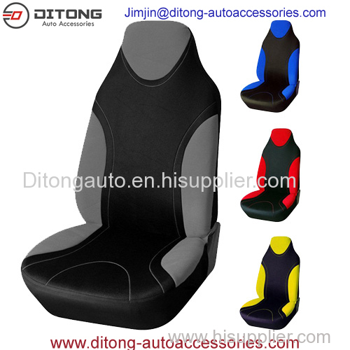Unique Polyester Fabric Car Headrest Seat Covers