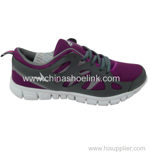 High quality China men running shoes with shock absorption outsole