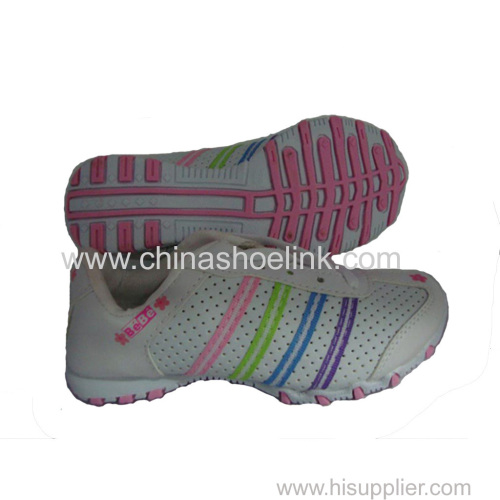 Girl sport casual shoes factory sneakers outdoor shoes