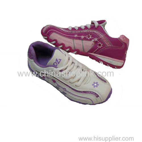 Best pink lady casual shoes sport sneakers manufactor