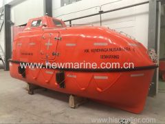 Totally enclosed common type lifeboat