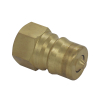 KZD Brass Quick Release Coupling Japanese Type ISO7241-B 1/4 Quick Disconnect Coupler Plug