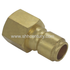 NPT1/2 NPT3/4 Straight Through Hose Connector Hose Coupler Hydraulic Quick Disconnect Coupling