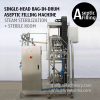 200 Litre Bag Aseptic Filler 220kg Bag in Drum Aseptic Filling Machine