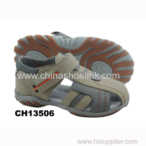 Best Beige leather sport sandals exporter