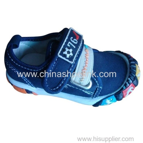 Anthentic pro Best Children Canvas shoes supplier
