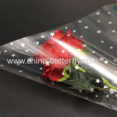 Printed Cellophane Wraps Flower Packaging