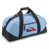 Custom Design Logo Fabric Sport Traveling Duffle Bag