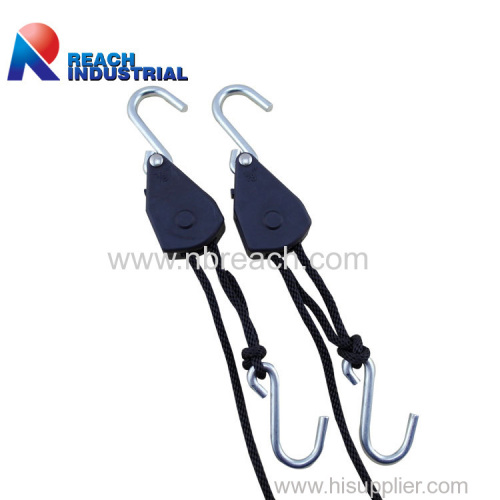 "1/8"" Rope Ratchet with S Hook"