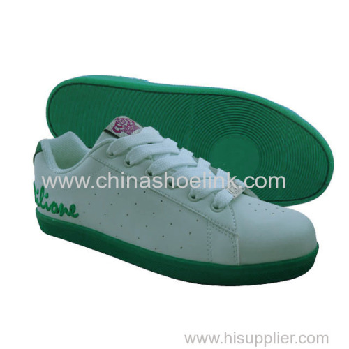 Best lady skateboard shoes sneakers sport shoes supplier