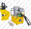 electric motor hydraulic pump operated hydraulic hole puncher