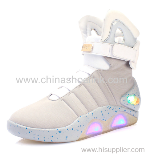 Magnificent back to the future 2 light up shoes trainers shoes sneakers all sizes
