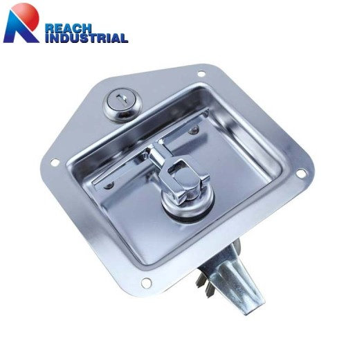 Stainless Steel Recessed Folding T Handle Lock