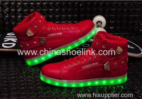Ankle boots lighten up skateboard shoes sneakers manufacturer