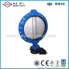 Mono Flange Type Backed Seat Butterfly Valve