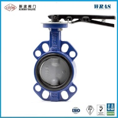 Wafer Type Backed Seat Butterfly Valve