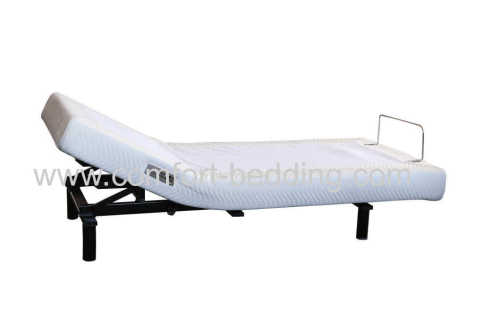 Headrise adjustable bed base