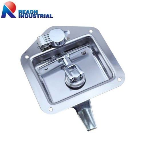Stainless Steel Recessed Folding T Handle latch