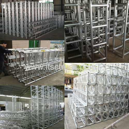 Indoor Aluminum Lighting Truss Stage System Installation