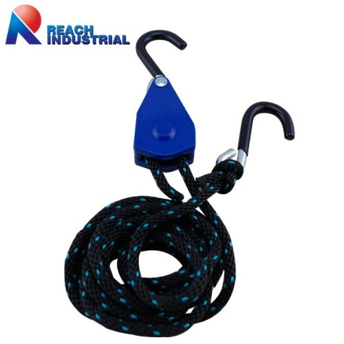 Coated S Hook Rope Ratchet 1/4