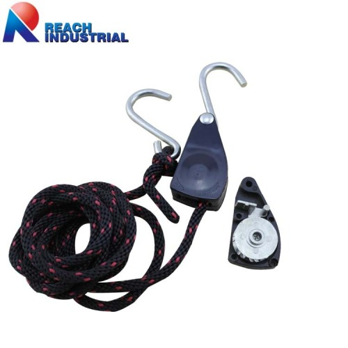 "1/4"" Rope Tie Down with Ratchet"