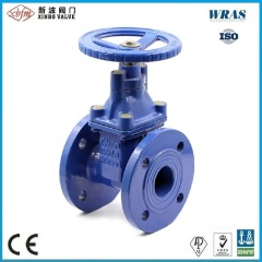 DIN F4 Ductile Iron Resilient Seated Gate Valve