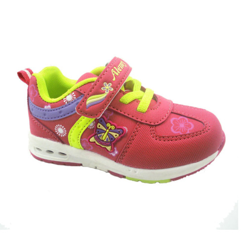 Child safty jogger sports shoes sneakers exporter