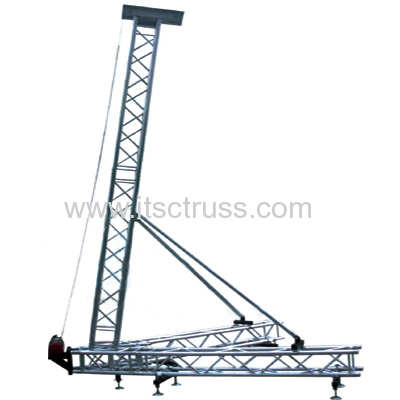 Medium Duty Aluminum PA Tower 9m High with 1000KG Capacity