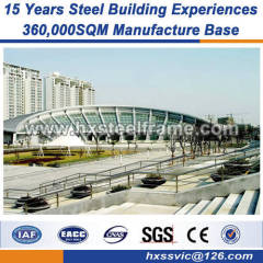 built-up H steel steel structures and metal buildings fairly hard