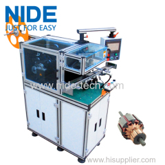 Commutator Motor Wedge Inserting Machine for Mixer Motor Juicer Motor Power Tool