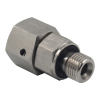 Stainless Steel 304 Hydraulic Adapter EGE-R-EDOMD71 2BC/2BD BSPP Male Thread To Metric Female Thread