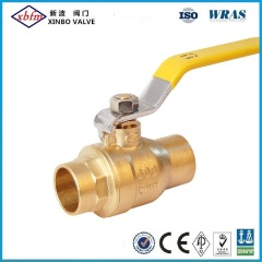 Forged Solder Brass Ball Valves with Lead Free (sweat*sweat)