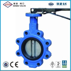Cast Iron Ductile Iron Lug Type Butterfly Valve