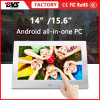 15.6 inch full HD touch screen pc with POE and wifi bluetooth for industrial display
