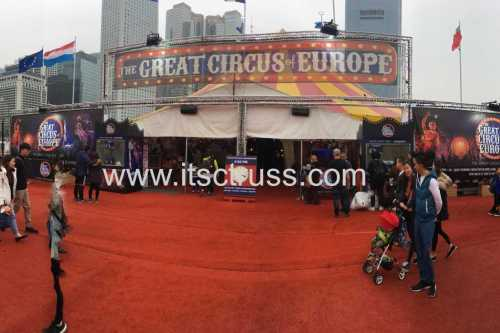 The Great Circus of Europ Truss System in Hong Kong
