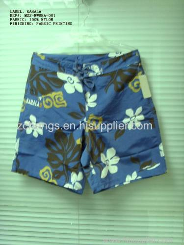 men's women's swim short