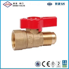 Brass Gas Ball Valve Flare X Female