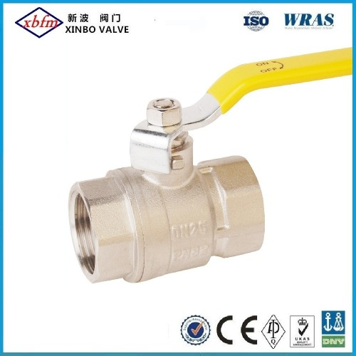 En331 Approval Forged Brass Ball Valve Fxf