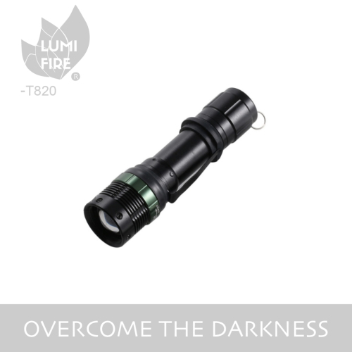 Classic XPE LED Zoom Flashlight
